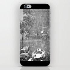 Rainy NYC Sidewalk iPhone & iPod Skin