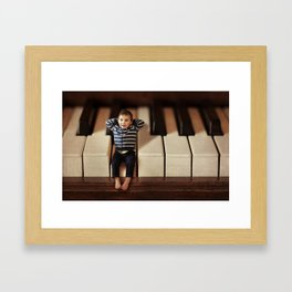 Just wanted to drop you a note! Framed Art Print