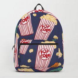 Popcorn and movie night Backpack