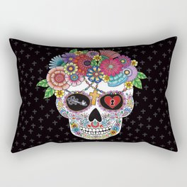 Lost Love BLACK Rectangular Pillow