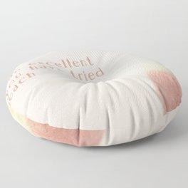 Peaches & Cream II Floor Pillow
