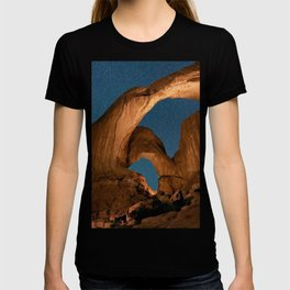 Double Arch In Arches National Park T-shirt