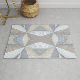 Origami - White Rug