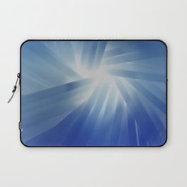 Blue Streaks of Light Laptop Sleeve