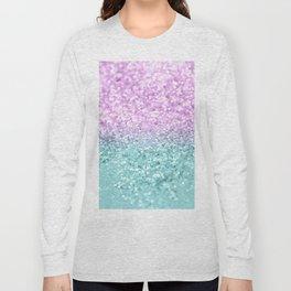 Mermaid Girls Glitter #2 #shiny #decor #art #society6 Long Sleeve T-shirt