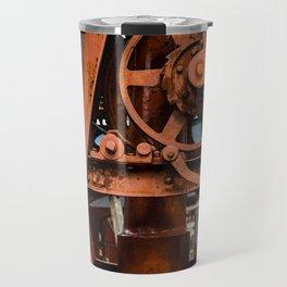 The Old Rusty Ship Crane Travel Mug