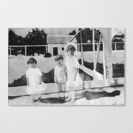 Spook Children Canvas Print