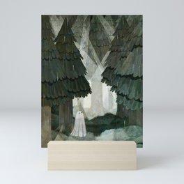 Pine Forest Clearing Mini Art Print