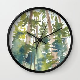 Ponderosa KAt Ryalls Wall Clock