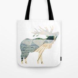 Elk. Tote Bag