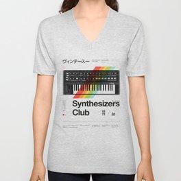 Synthesizers Club Unisex V-Neck