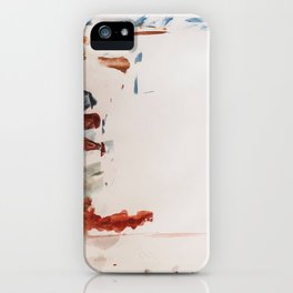 moody stripes iPhone Case