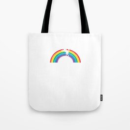Medal Unicorn Rainbow Colorful Birthday Gift For Your Wife And Husband For Their 40th Birthday Natal Tote Bag