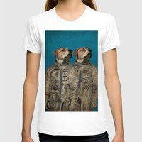 outer space T-shirts featuring Journey into outer space by Durro