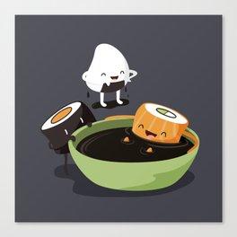 Sushi Bath Canvas Print