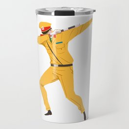 Vietnamese Traffic Cop Dab Travel Mug