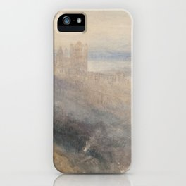 "J.M.W. Turner ""Moon over Lausanne"" iPhone Case"