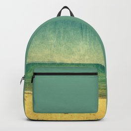 Seascape Vertical Abstract Backpack