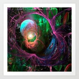Fae Portal Art Print