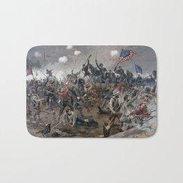 The Battle of Spotsylvania Court House - Civil War Bath Mat