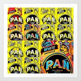 Parampan Pan Art Print