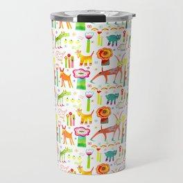Animal Garden Travel Mug