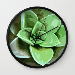 Green Earthly Rescue Wall Clock