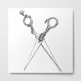For The Threads Of Fate Metal Print