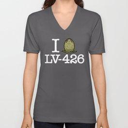 I Love LV-426 Unisex V-Neck