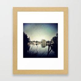 Le Jardin Framed Art Print