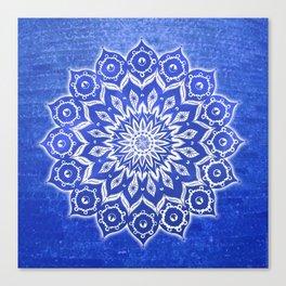 okshirahm, blue crystal Canvas Print