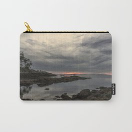 October Sunset at Plum cove Beach Carry-All Pouch