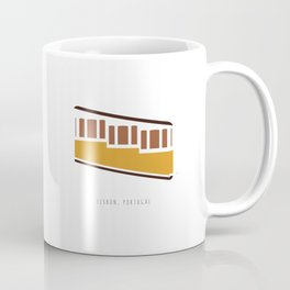 Lisbon, Funicular, Ascensor da Bica, Portugal Coffee Mug