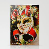 clown Stationery Cards featuring CLOWN by ArtPavo