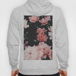 low colored poeny garden Hoody
