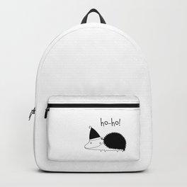 Fun Scandinavian Christmas art for techies Backpack
