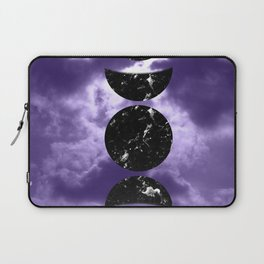Marbled Moon Phases #3 #decor #art #society6 Laptop Sleeve