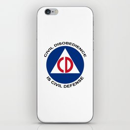 Civil Defence iPhone Skin