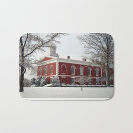 Side View of the Iron County Courthouse Bath Mat