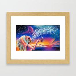 Spirit Framed Art Print