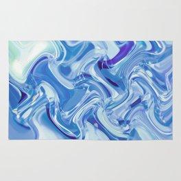 Swirling Glass Rug