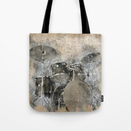 Sounds of music. Installing the Drum. Tote Bag