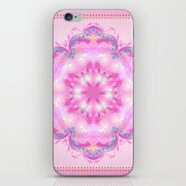 Wedding Day Pink Mandala Trendy Design, Holiday Decoration. iPhone Skin