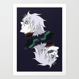 unlucky 13 Art Print