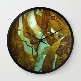 In the Kelp Forest Wall Clock