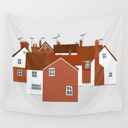Houses in Kent and Sussex Wall Tapestry