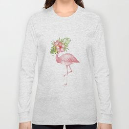 Flamingo Dreams Long Sleeve T-shirt