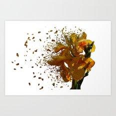 Iris Explosion Art Print