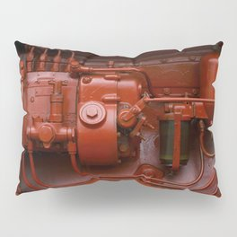 Red Tractor motor Pillow Sham