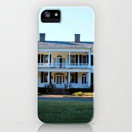 Plantation Mansion iPhone Case